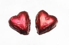 Serc kształtni bonbons Obraz Royalty Free