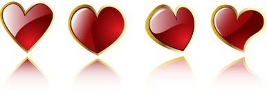 serc s valentine wektor ilustracji