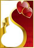serc s valentine wektor royalty ilustracja