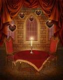 serc scenerii valentine ilustracja wektor