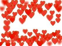 Serc sieci tło Obrazy Stock