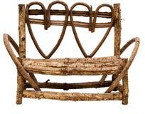 serca ławki parku Zdjęcia Stock