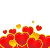 serca czerwoni royalty ilustracja