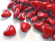 serca czerwoni ilustracji
