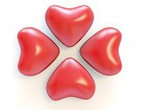 serca czerwoni ilustracja wektor