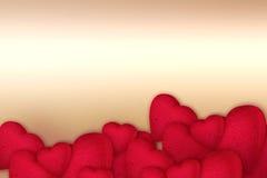 serca czerwoni Fotografia Royalty Free