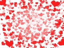 serca czerwoni Obrazy Royalty Free