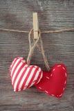 serca czerwoni Zdjęcie Royalty Free