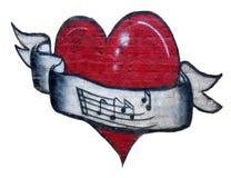 serca czerwoni Obrazy Stock