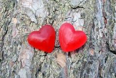 serca czerwoni Obraz Royalty Free