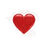 serca czerwoni Obraz Stock