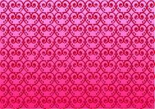 serca deseniują czerwoną teksturę ilustracja wektor