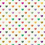 serca deseniują bezszwowego Zdjęcie Stock