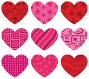 serca deseniujący Obraz Stock