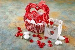 Serca dla walentynki ` s dnia Zdjęcie Royalty Free