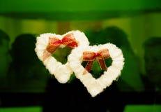 serca dwa Zdjęcie Royalty Free