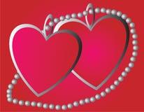 serca dwa royalty ilustracja