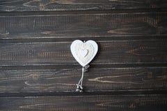 Serca jako symbol St Valentine& x27; s dzień Fotografia Royalty Free