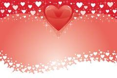 serca karciany valentine iii Obrazy Stock