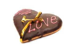 Serca oszronieje ciastka Zdjęcie Stock