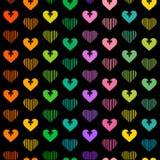 Serca tło Fotografia Stock