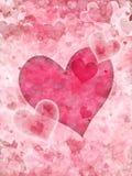 Serca tło Obraz Stock