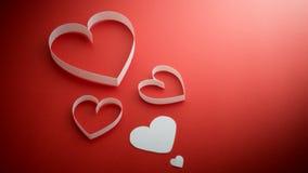 serca tapetują s valentine Obraz Royalty Free