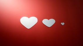 serca tapetują s valentine Zdjęcia Stock