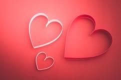 serca tapetują s valentine Fotografia Stock