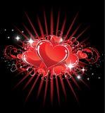 serca target3366_1_ valentine ilustracja wektor