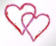 serca ustawiający Obraz Royalty Free
