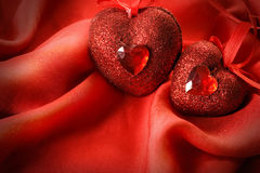 serca valentine Zdjęcia Royalty Free
