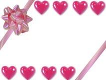 serca valentine Zdjęcie Royalty Free