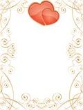 serca valentine Zdjęcia Stock