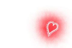 serca valentine Fotografia Royalty Free