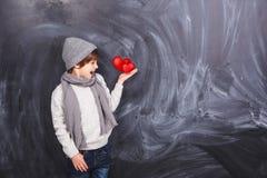 Serca w ręce Zdjęcie Stock
