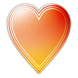 serce Obraz Stock