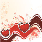 serce abstrakcyjne Ilustracja Wektor