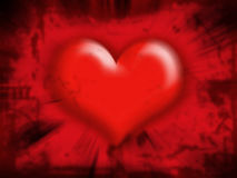 serce abstrakcyjne Zdjęcia Royalty Free