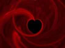 serce abstrakcyjne Obraz Royalty Free