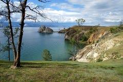 Serce Baikal - rockowy Shamanka obraz stock