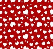 serce bezszwowy tła Zdjęcia Stock