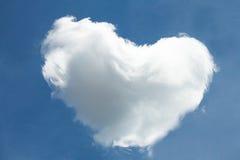 Serce chmura obrazy royalty free