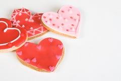 serce ciasteczka Zdjęcie Royalty Free