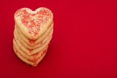 serce ciasteczka Fotografia Royalty Free