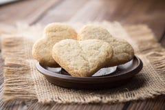 Serce ciastka. zdjęcia stock