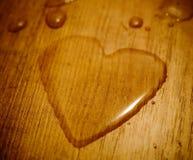 serce cieczy Zdjęcie Stock