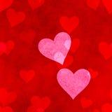 serce ciemnawi tła obrazów serc Obraz Royalty Free