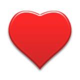 serce ciemnawi tła obrazów serc Obrazy Stock