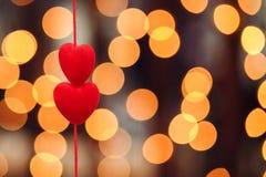 serce czerwony 2 zdjęcia royalty free